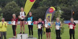 Platz 6 bei der DM in Bremen – Meret Joeris schafft den Sprung in das 300-Meter-Hürden-Finale
