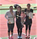 Deutsche Meisterschaften der Leichtathleten – Diana Tomulets erringt den Titel im Dreisprung